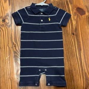 Baby Boy Polo Ralph Lauren One Piece Outfit 12 mo